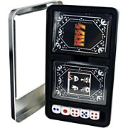 Axe Heaven KISS - Dynasty/KISS Logo Double Deck Playing Card Set with Dice in Tin Box