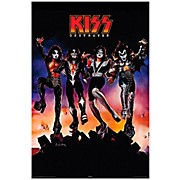 Hal Leonard KISS Destroyer Wall Poster