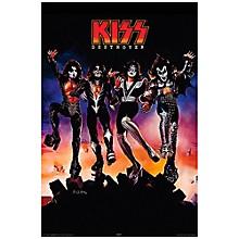 Hal Leonard KISS Destroyer Wall Poster