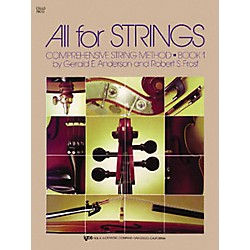 KJOS All For Strings 1 Cello Book (78CO)