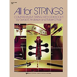 KJOS All For Strings 1 String Bass Book (78SB)