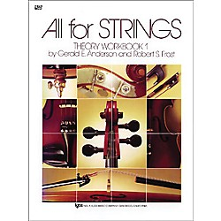 KJOS All For Strings 1 Theory Workbook Cello (84CO)