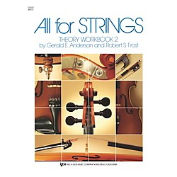 KJOS All For Strings 2 Theory Workbook Cello (85CO)