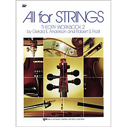 KJOS All For Strings 2 Theory Workbook Viola (85VA)