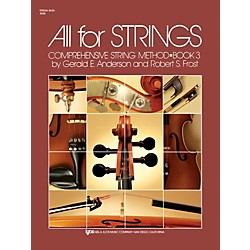 KJOS All For Strings 3 String Bass (80SB)