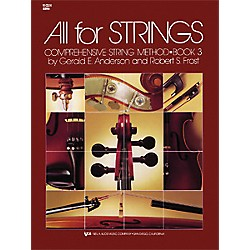 KJOS All For Strings 3 Violin Book (80VN)
