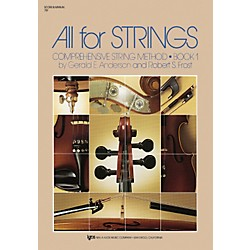 KJOS All For Strings Book 1 (78F)