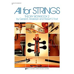 KJOS All For Strings Theory Woorkbook 2-SCORE (85F)