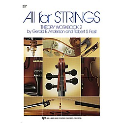 KJOS All For Strings Theory Workbook 2 (85VN)