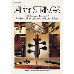 KJOS All for Strings Theory Workbook 1 (84F Book 1)