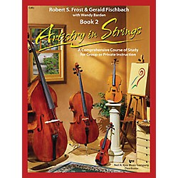 KJOS Artistry In Strings 2 Book/CD Cello Book (101COCD)