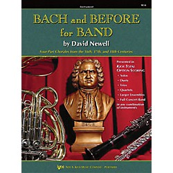 KJOS Bach And Before For Band Clarinet/Bass Clarinet (W34CL)