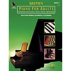 KJOS Bastien Piano For Adults Book 1 (KP1B)