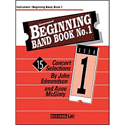 KJOS Beginning Band Book 1 Clarinet 1 /Edmondson /Queenwood (Q886004)
