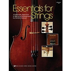KJOS Essentials For Strings String Bass (74SB)