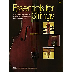 KJOS Essentials For Strings Violin Book (74VN)