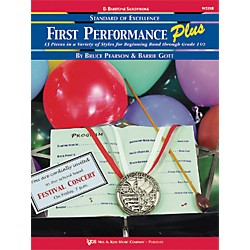 KJOS First Performance Plus Eflat Baritone Saxophone Book (W53XR)