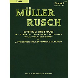 KJOS Muller-Rusch String Method 1 Viola Book (51VA)