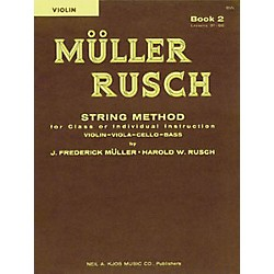 KJOS Muller-Rusch String Method 2 Violin Book (52VN)