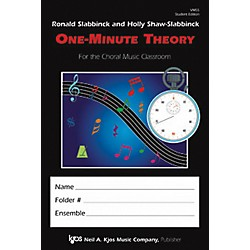 KJOS One Minute Theory Student Edition (VM5S)
