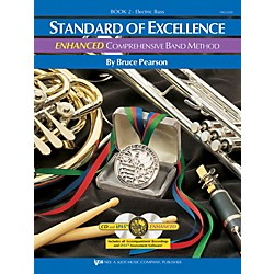 KJOS STANDARD OF EXCELLENCE BOOK 2 ENHANCED ELECTRIC BASS GUITAR (PW22EBS)
