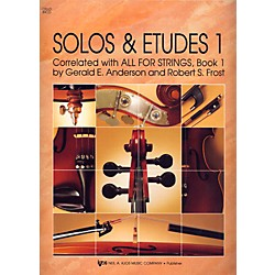 KJOS Solos And Etudes, BK1/CELLO (89CO)