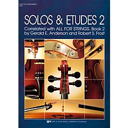 KJOS Solos And Etudes-BOOK 2/PIANO ACCOMP (91PA)