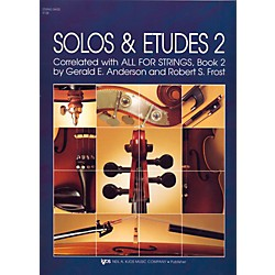 KJOS Solos And Etudes-BOOK 2/STRG BASS (91SB)