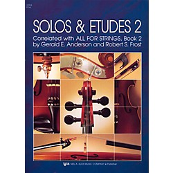 KJOS Solos And Etudes-BOOK 2/VIOLA (91VA)