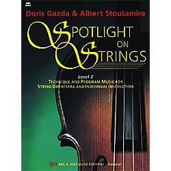 KJOS Spotlight On Strings 2 Cello (93CO)