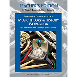 KJOS Standard Of Excellence BK2,MSC THRY/HISTORY WB-TEACHER (L22T)