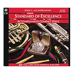 KJOS Standard Of Excellence Book 1 Accompaniment CD (2-CD Set) (W21CD)