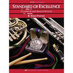 KJOS Standard Of Excellence Book 1 Drums/Mallet Percussion (W21PR)