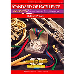 KJOS Standard Of Excellence Book 1 Enhanced Electric Bass (PW21EBS)