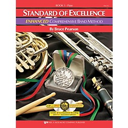 KJOS Standard Of Excellence Book 1 Enhanced Flute (PW21FL)