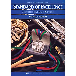 KJOS Standard Of Excellence Book 2 Bari Sax (W22XR)