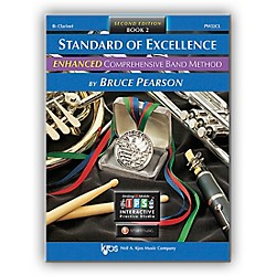 KJOS Standard Of Excellence Book 2 Enhanced Clarinet (PW22CL)