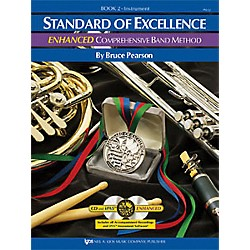KJOS Standard Of Excellence Book 2 Enhanced Percussion (PW22PR)