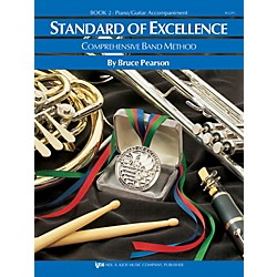 KJOS Standard Of Excellence Book 2 Enhanced Piano/Guitar Accomp (W22PG)
