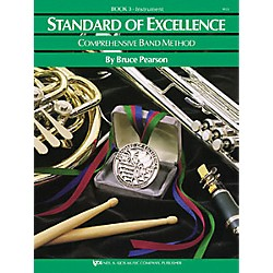 KJOS Standard Of Excellence Book 3 Baritone Bc (W23BC)