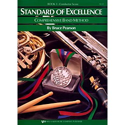 KJOS Standard Of Excellence Book 3 Conductor Score (W23F)