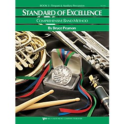 KJOS Standard Of Excellence Book 3 Timpani/Aux Perc (W23TM)
