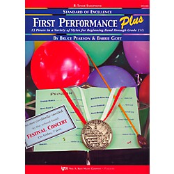 KJOS Standard Of Excellence First Performance Plus-TENOR SAX (W53XB)