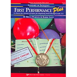 KJOS Standard Of Excellence First Performance Plus-TIMP & AUX PR (W53TM)