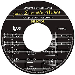 KJOS Standard Of Excellence Jazz Ensemble Book 1, CD/SCORE (W31FCD)