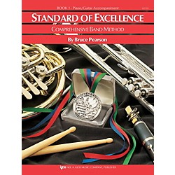 KJOS Standard of Excellence Book 1 Piano/Guitar (W21PG)