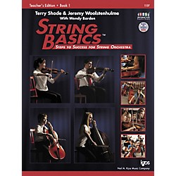 KJOS String Basics Book 1 - Teacher Book (115F)