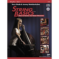 KJOS String Basics Book 1 for String Bass (115SB)