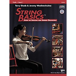 KJOS String Basics Book 1 for Violin (115VN)