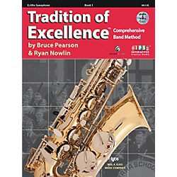 KJOS Tradition Of Excellence Book 1 for Alto Sax (W61XE)